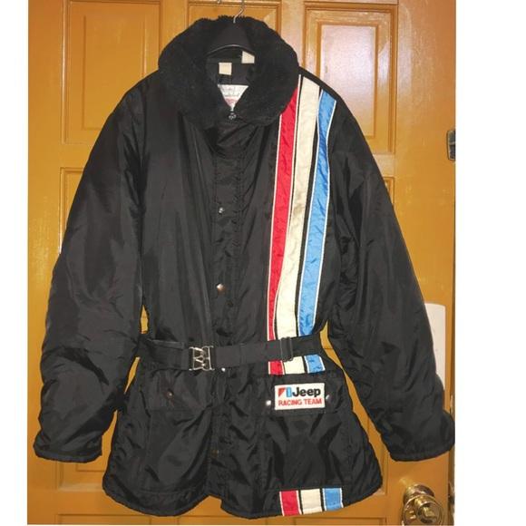 Coat Black Insulated XL